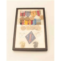 USMC WWII MEDAL GROUP