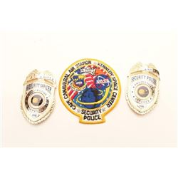 NASA BADGE LOT