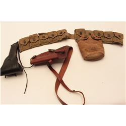 LOT OF U.S. SHOULDER HOLSTERS