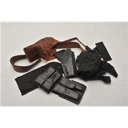 BONANZA LOT OF LEATHER & FABRIC HOLSTERS