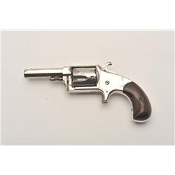HOPKINS & ALLEN XL NO.3 RIMFIRE REVOLVER