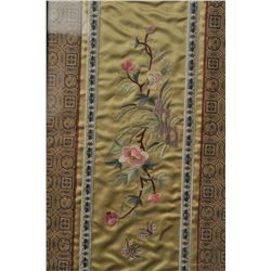 ORIENTAL SILK EMBROIDERY