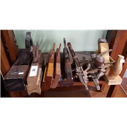 LOT OF 7 ANTIQUE HAND TOOLS