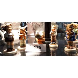 LOT OF 5 GOEBEL/HUMMEL FIGURINES