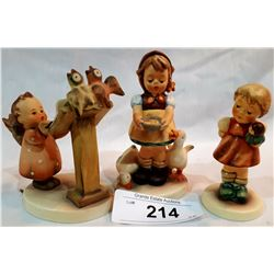 THREE GOEBEL/HUMMEL FIGURINES
