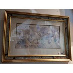 FRAMED PRINT SIGNED JANE HICKMAN