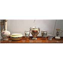 LOT OF 7 PCS COLLECTIBLE PORCELAIN