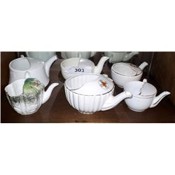 SIX VINTAGE INVALID CUPS