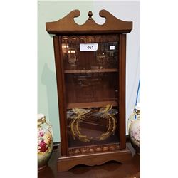 SMALL TABLE TOP DISPLAY CABINET