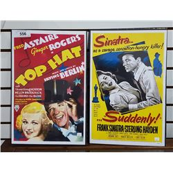 TWO LOBBY CARD MOVIE POSTERS