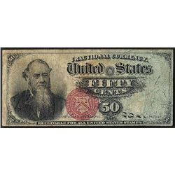 March 3, 1866 Fifty Cents 4th Issue Fractional Note