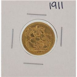 1907-S Sydney Australia Sovereign Gold Coin