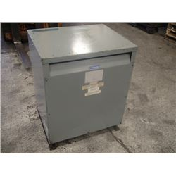 Sorgel 3 Phase, 75KVA Insulated Transformer, CAT No. 75T3H