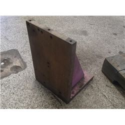 "Steel Right Angle Plate, Overall: 12"" x 12"" x 18"""