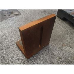 "Steel Right Angle Plate, Overall: 8"" x 10"" x 12"""