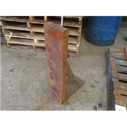 "Steel Right Angle Plate, Overall: 7"" x 15"" x 30"""