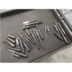 Lot of Misc Size/Capacity End Mill Holder Adapters