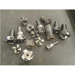 Misc Sized Indexable Face Mills, No Insert set screws
