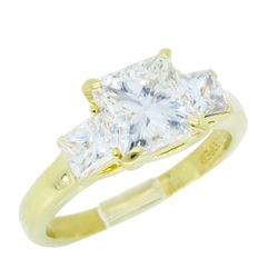 18KT Yellow Gold 1.50ct GIA Cert Diamond Ring