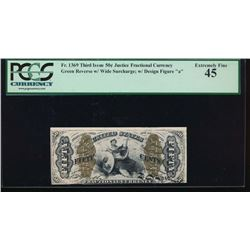50 Cent Third Issue Fractional Note PCGS 45