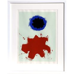 Adolph Gottlieb, Peace from the Peace Portfolio, Silkscreen