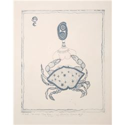 Mireille Kramer, Cancer Crab, Aquatint Etching