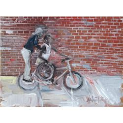 Andrew Turner, Peg Rider, Oil Painting