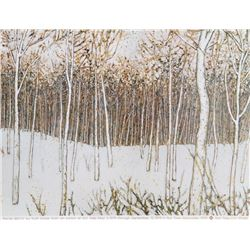 Ruth Dicker, Snow Birch: Exhibition, Poster
