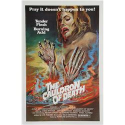 The Cauldron of Death, Poster