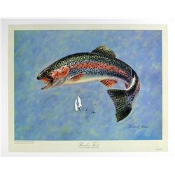 Donald Moss, Rainbow Trout, Lithograph