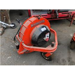 KUBOTA MODEL F2535D DEBRIS BLOWER TRACTOR ATTACHMENT