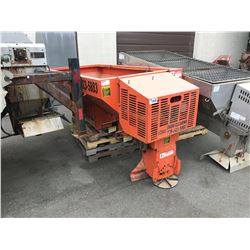 SWENSON ORANGE TRUCK BOX SALT SPREADER