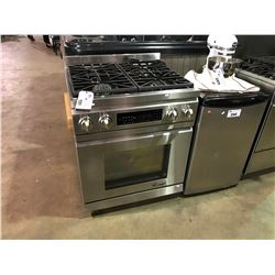 DACOR ALL STAINLESS STEEL GAS 4 BURNER  INDUSTRIAL STOV E