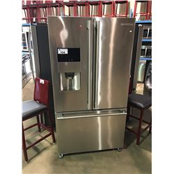 ELECTROLUX  ICON FULL STAINLESS STEEL FRENCH DOOR FRIDGE WITH ROLL OUT FREEZER AND WATER AND ICE