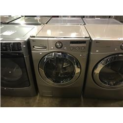 GOLD COLOR LG INVERTER DIRECT DRIVE FRONT LOADING CLOTHES WASHER