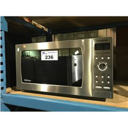 PANASONIC STAINLESS STEEL COUNTERTOP  MICROWAVE WITH INVERTER