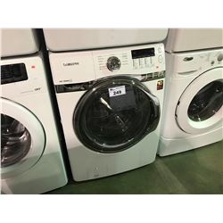 WHITE SAMSUNG VRT STEAM FRONT LOADING CLOTHES WASHER