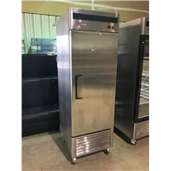 "BABAK FOOD EQUIPMENT 27"" FULL STAINLESS STEEL SINGLE DOOR REACH IN FREEZER"