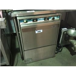 JET TECH SYSTEMS HIGH TEMP STAINLESS UNDERCOUNTER COMMERCIAL DISHWASHER