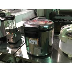 STAINLESS STEEL COMMERCIAL GRADE WHALE RICE WARMER