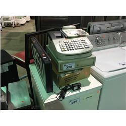 ROYAL 583CX CASH REGISTER/THERMAL ROLLS/NEON OPEN SIGN