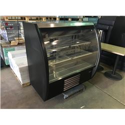 3 TIER GLASSFRONT FOGEL CURVED  REFRIGERATED PASTRY/DELI CASE