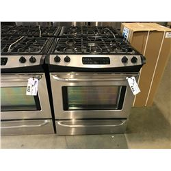 FRIGIDAIRE STAINLESS STEEL 4 BURNER NATURAL GAS INSERT  STOVE