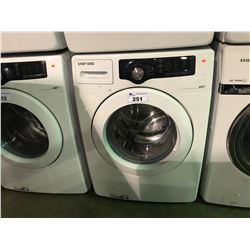 WHITE SAMSUNG VRT FRONT LOADING CLOTHES WASHER
