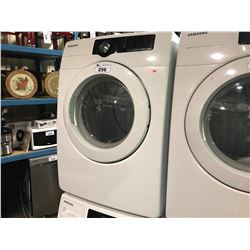 WHITE SAMSUNG SENSOR DRY FRONT LOADING CLOTHES DRYER