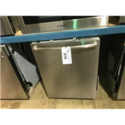 BOSCH SILENCE PLUS 46 DBA STAINLESS BUILT IN DISHWASHER WITH STAINLESS TUB