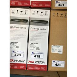HIKVISION DS-6500 SERIES VIDEO ENCODER