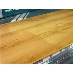 EC PREMIUM NATURAL IMPACT WARM MAPLE GLUELESS LAMINATE FLOORING