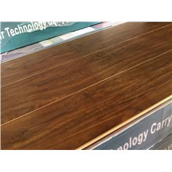 EC PREMIUM NATURAL IMPACT BRAZILLIAN CHESTNUT GLUELESS LAMINATE FLOORING