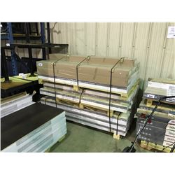 3 PALLETS OF ASSORTED ENGINEERED REAL WOOD FLOORING